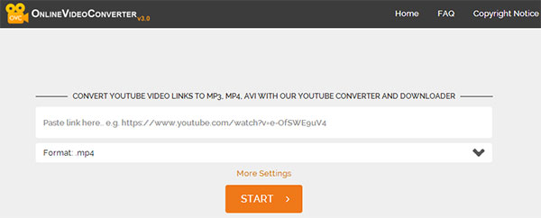 Online YouTube Downloader
